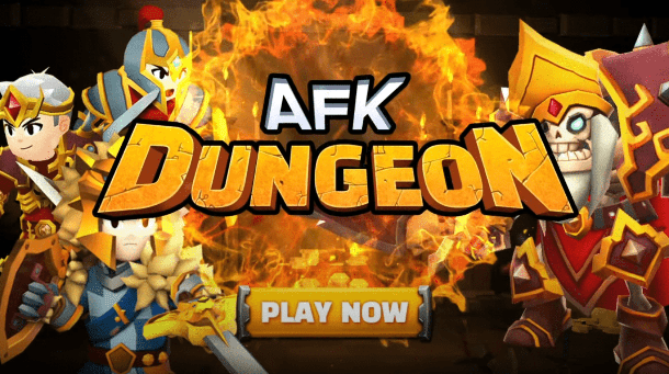AFK Dungeon Banner Play Now