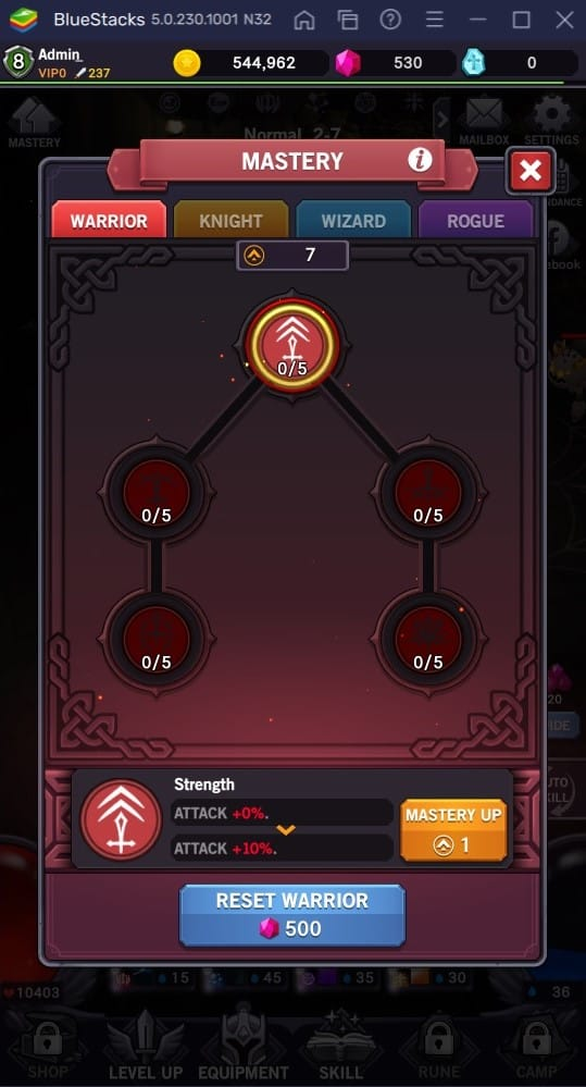 afk dungeon mastery