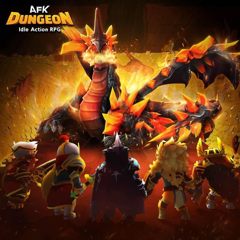 afk dungeon raid